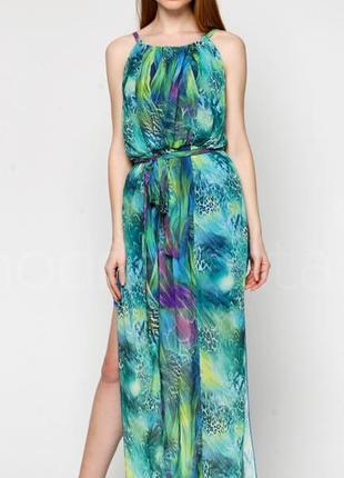 Платье, сарафан в пол, макси, длинное morgan