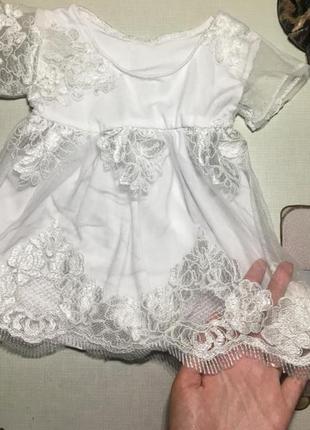 Нарядно платье на малышку