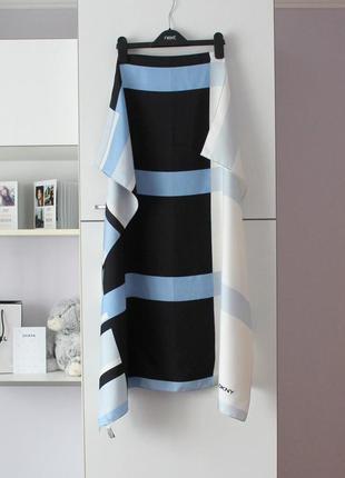 Шикарный шелковый платок от dkny, оригинал, 100% шелк