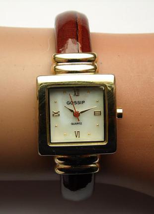 Gossip gsp287 часы из сша с перламутровым циферблатом