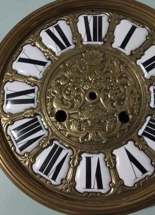 Часы старинные,циферблат