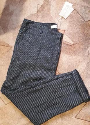 Льняные брюки от mango