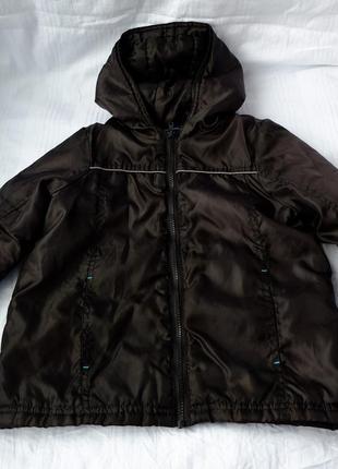Куртка на мальчика (рост 98-104) на тонком синтепоне