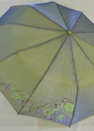 Зонт хамелеон c узором на 10 качественных карбоновых спиц.анти...