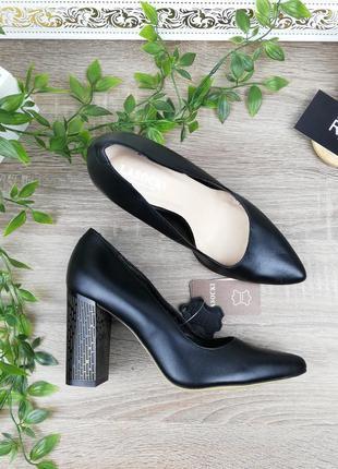 🌿37🌿европа🇪🇺 lasocki. кожа. роскошные туфли лодочки