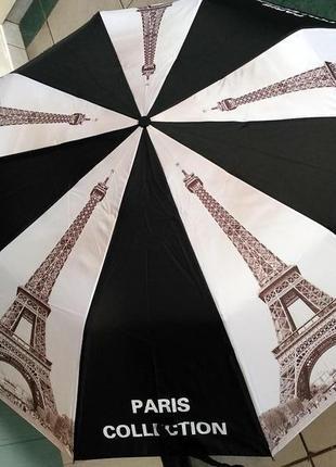 Зонт полуавтомат города,антиветер,10 крепких спиц,отличное кач...