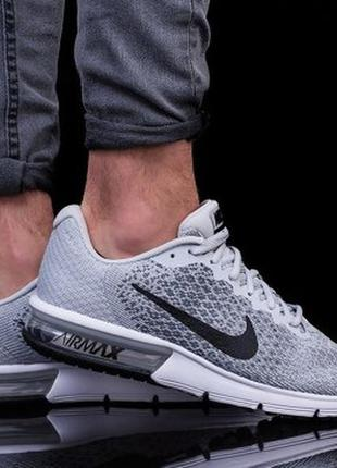 Кроссовки nike air max sequent 2 оригинал