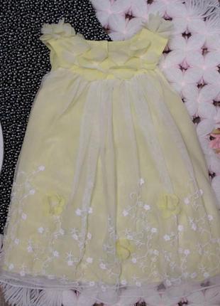 Нежное нарядное платье на манюню