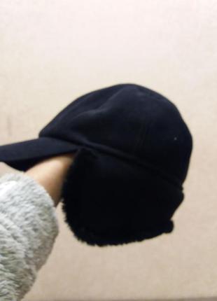 Мужская меховая кепка.ушки опускаются.m&s