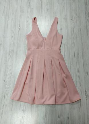 🎈нас 10 тысяч🎈happy sale🎁   розово мини платье с чашечками