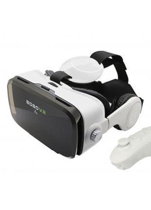 Очки VR для просмотра 3D с наушниками