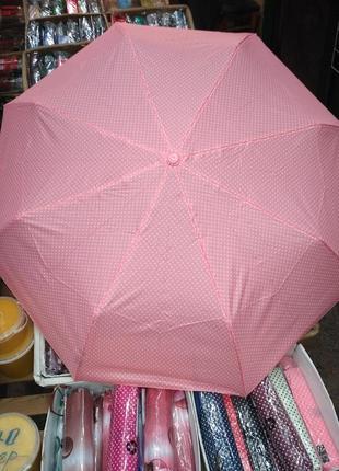 Зонт компактный механика.