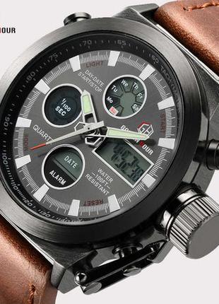 Армейские часы AMST Original BROWN