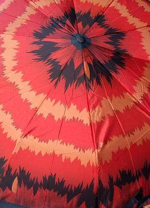 Зонт полуавтомат сверкающий 10 спиц .антиветер.