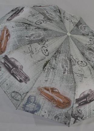 """Зонт полуавтомат-""""ретро"""" на 10 карбоновых спиц оригинальный!"""