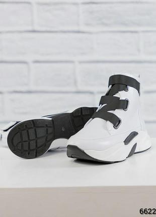 Женские кожаные спортивные ботинки 🔥