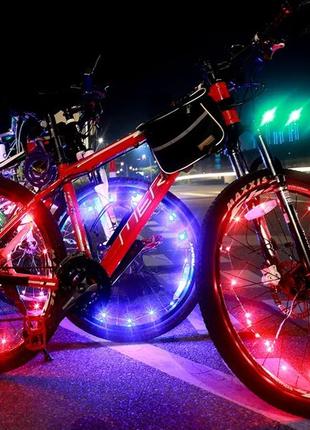 Диодная иллюминация колеса велосипеда на 20 диодов 0138