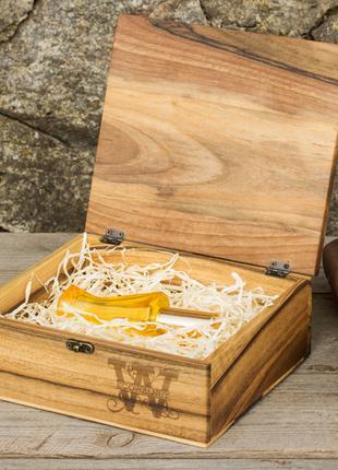 Подарочная шкатулка с персонализацией органайзер для личных вещей