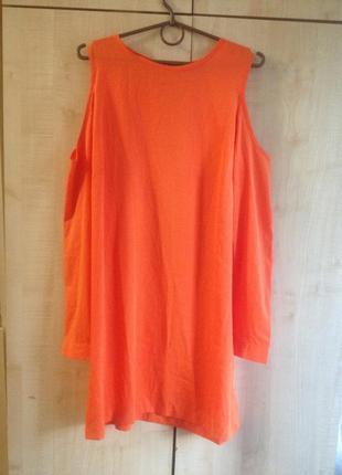 Яркое брендовое платье boohoo, р.s индия