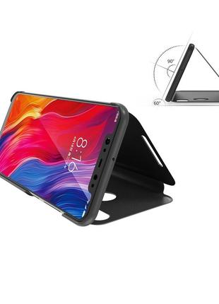 Чехол для телефона xiaomi mi mix 3 черный подставка с прозрачн...