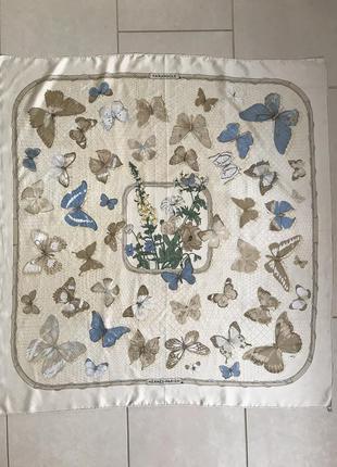Платок шёлковый большой оригинал hermes серия farandole ( caty)
