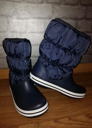 Зимние сапоги дутики крокс crocs winter puff boot оригинал