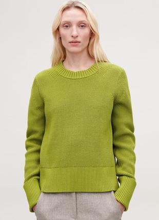 Хлопковый свитер cos