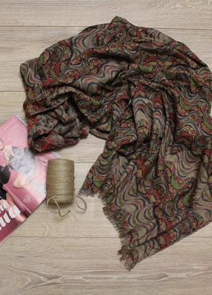 Большой, объемный шарф