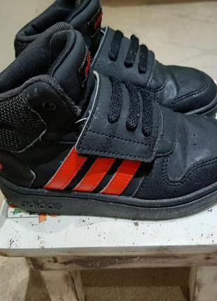 Оригинальные детские кроссовки adidas 24 размер 15.5 см стелька