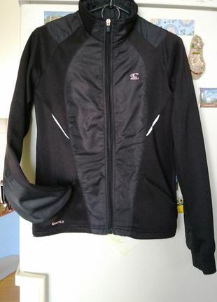 Черный женский спортивный прогулочный костюм o'neill  40-42