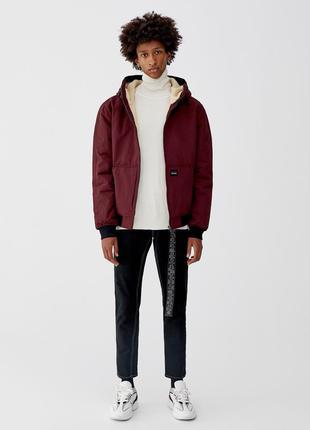 Куртка с капюшоном pull&bear