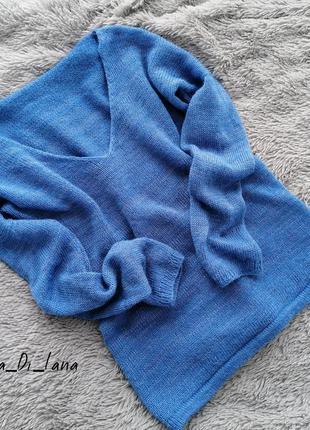 Шикарный свитер из итальянской пряжи
