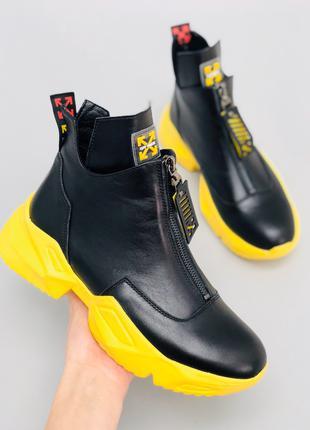 Женские демисезонные ботинки y