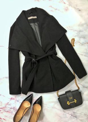 Пальто натуральная шерсть теплое размер l