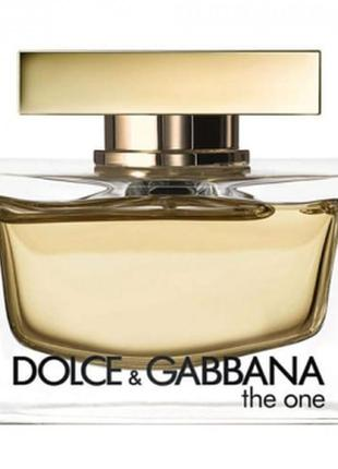 Dolce&gabbana the one парфюмированная вода 110 ml