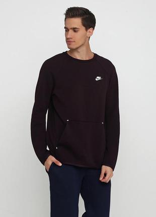 Кофта свитшот худи nike sportswear tech fleece оригинал! - 20%