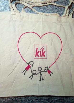 Текстильная сумка, шоппер. 👜 65/50