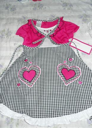 Платье kids zone(сша) на 3-4 года