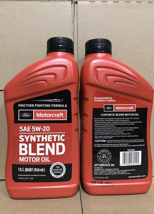 Ford motorcraft synthetic Blend 5w20 0,946ml.