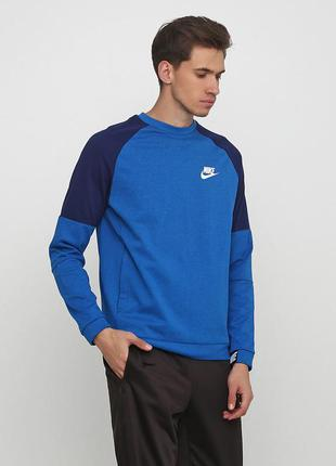 Кофта свитшот худи nike sportswear advance 15 fleece оригинал!...