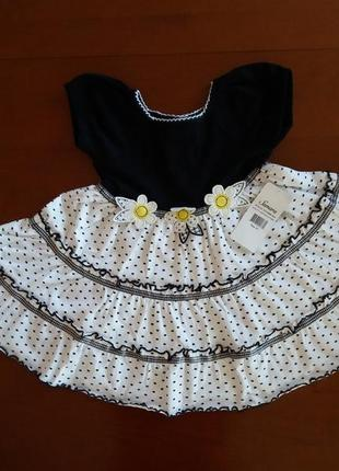 Нарядное платье samara(сша) на 3-4 года