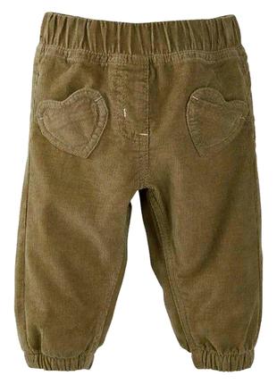 Вельветовые штаны lupilu. размер 92