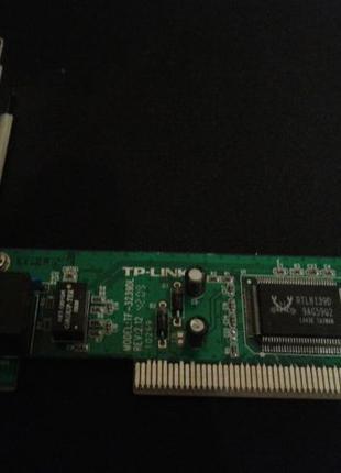 PCI сетевая карта TP-LINK TF-3239DL Win7x64 Win10x64 100mb/s