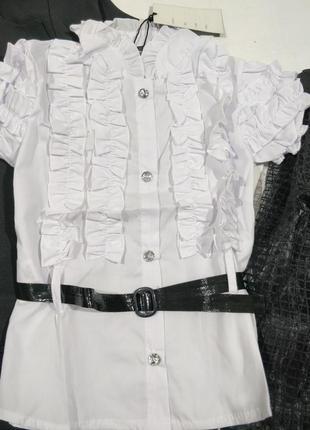 Стильная блуза для школьников