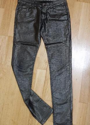 Блестящие джинсы revers, р. м