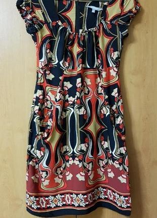 Натуральное летнее платье с карманами debenhams