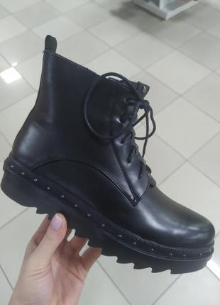 Женские деми ботинки люкс