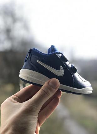 Nike pico дитячі кросівки на ліпучках оригінал