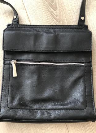 Сумка кожанная next  messanger bag