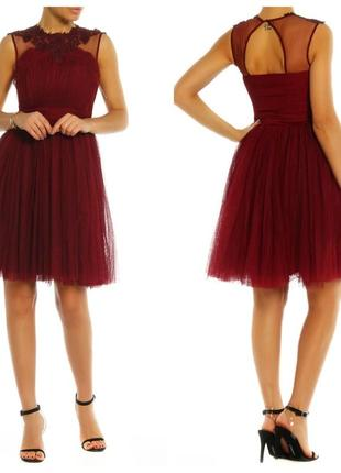 Фатиновое платье с пышной юбкой и вышивкой little mistress для...